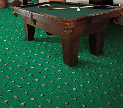 Carpet For Game Rooms Pool Halls Billiards Room